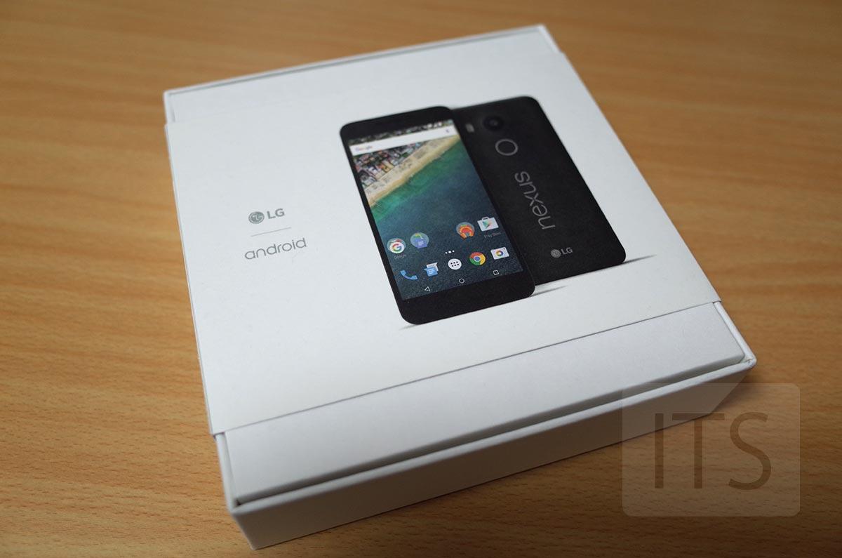 Google Nexus 5X パッケージ