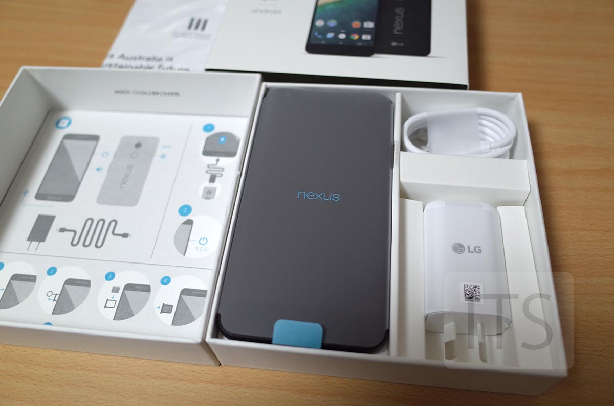 Google Nexus 5X 付属品