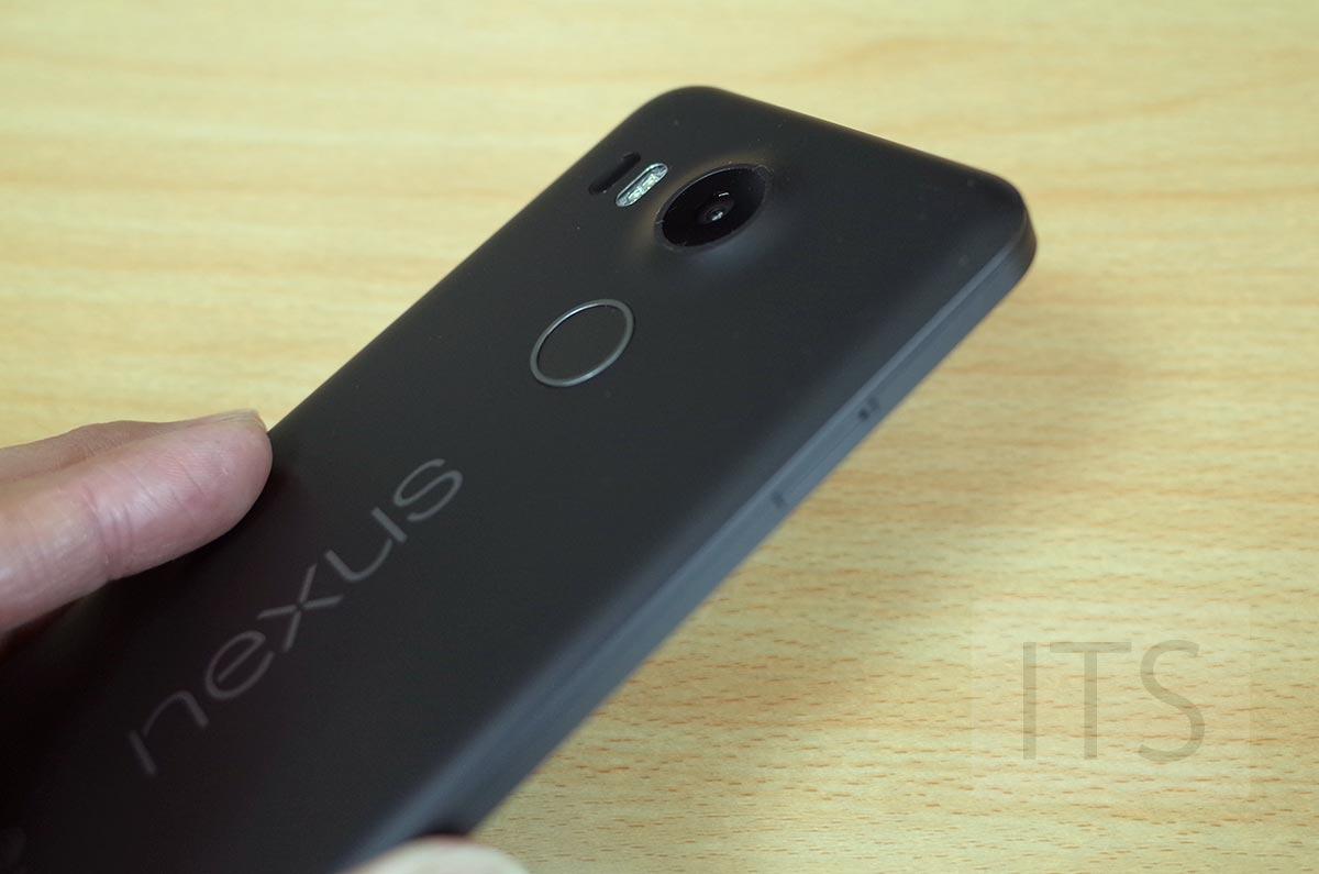 Nexus 5X 指紋認証