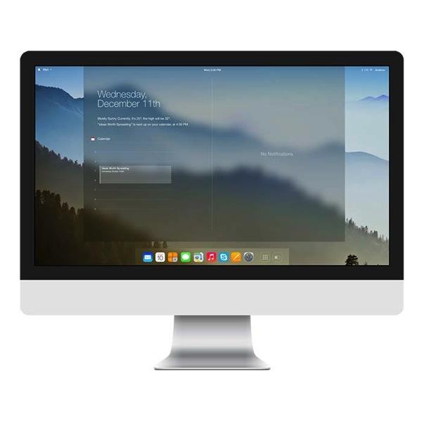 OS X 11 コンセプトデザイン