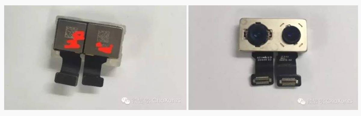 デュアルカメラレンズ iPhone