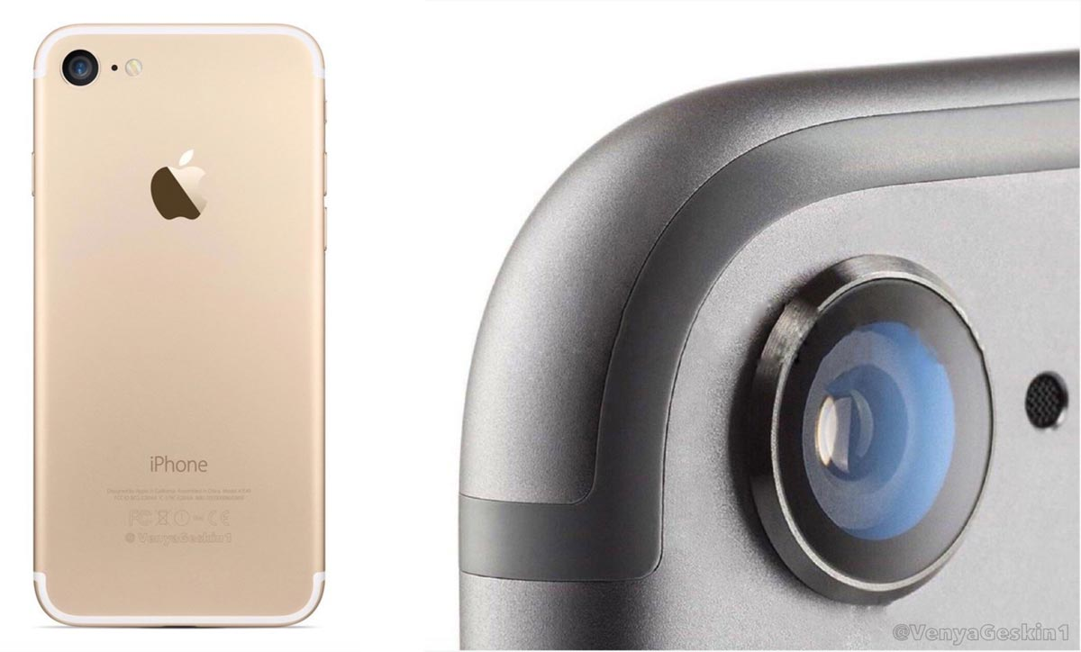 iPhone7 デザイン予想図