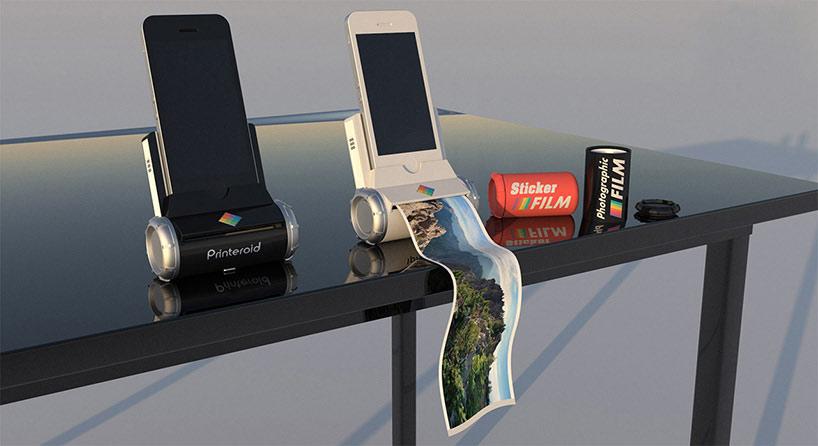 Pierpaolo lazzarini giampaolo scapigliati printeroid iphone ipad designboom 09