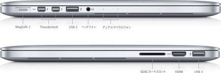 MacBookPro 端子