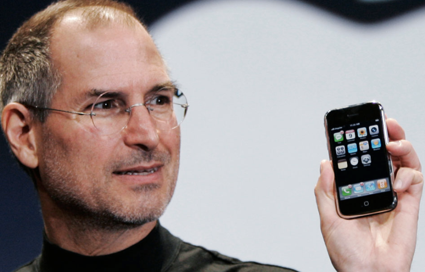 Steve jobs iphone first generation