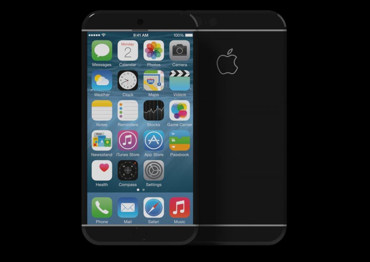 ブラックiPhone 7 コンセプト