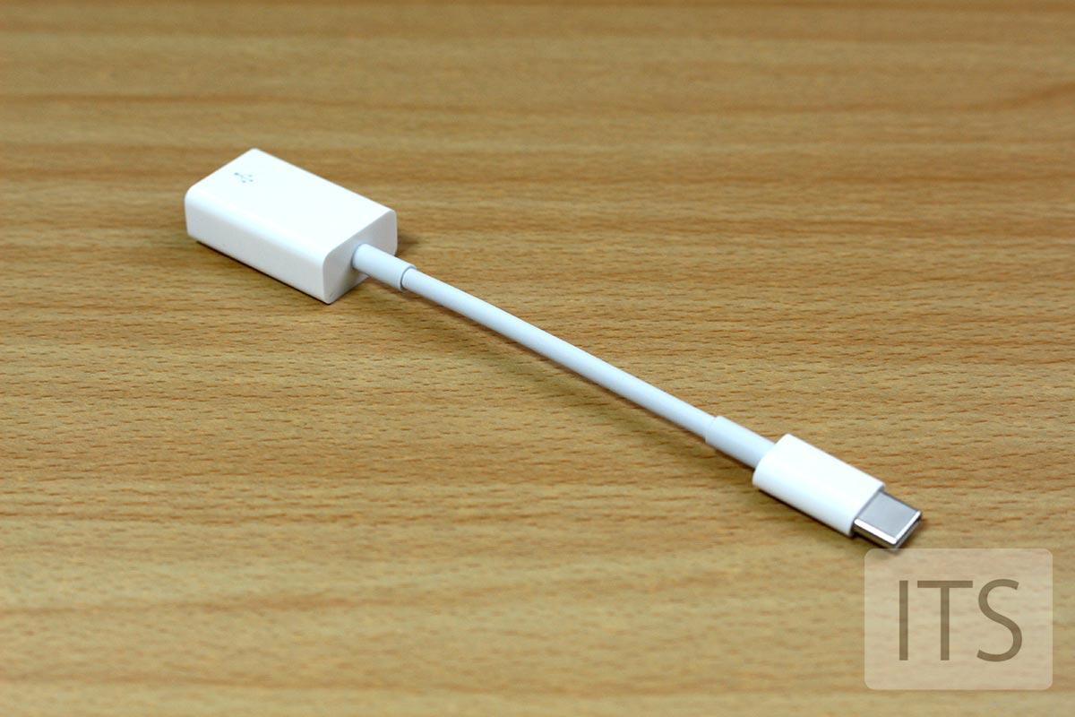 USB-C A 変換アダプターの長さ